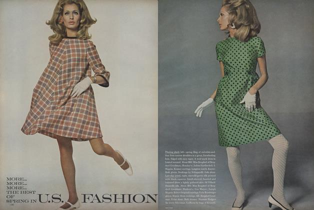 Article Preview: More...More...More...The Best of Spring U.S. Fashion, February 1 1967 | Vogue