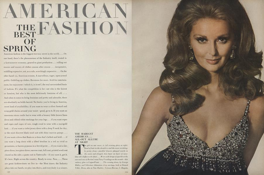 American Fashion: The Best of Spring, U.S.A.