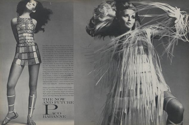Article Preview: The Now and Future Paco Rabanne, March 1 1967 | Vogue