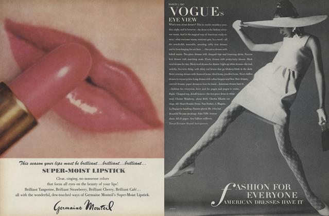 Article Preview: Fashion for Everyone: American Dresses Have It, March 1 1967 | Vogue