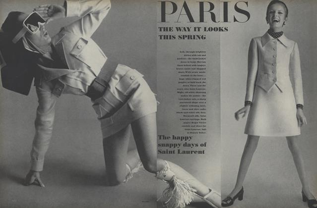 Article Preview: Paris: The Way It Looks this Spring, March 1 1967 | Vogue