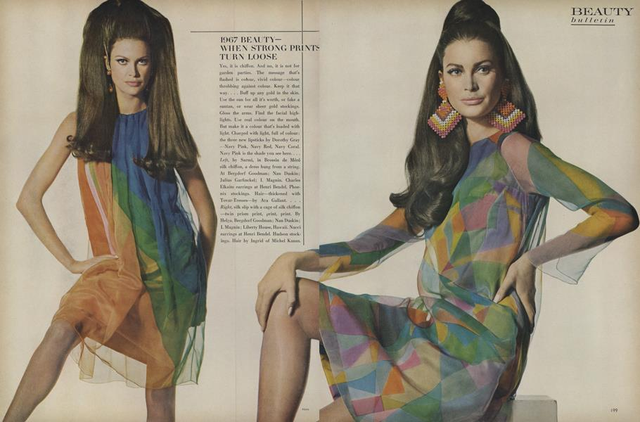 1967 Beauty—When Strong Prints Turn Loose