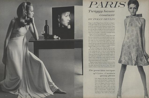 Article Preview: Paris: Twiggy Haute Couture, March 15 1967 | Vogue