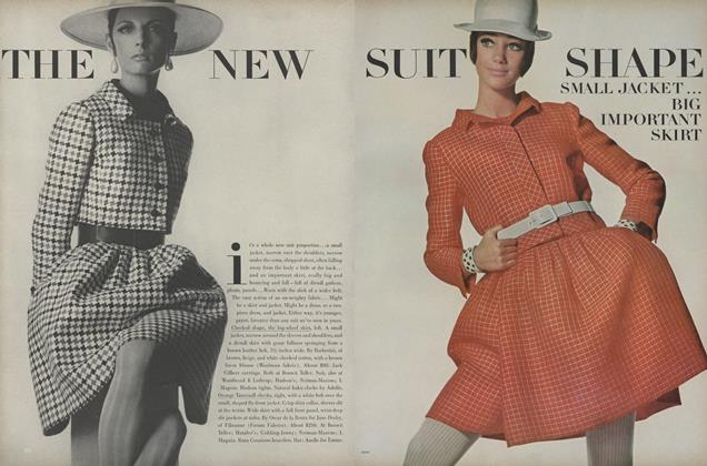 Article Preview: The New Suit Shape, March 15 1967 | Vogue