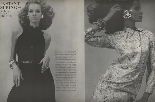 Article Preview: Instant Spring, March 15 1967 | Vogue