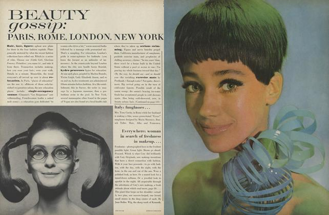 Article Preview: Gossip: Paris, Rome, London, New York, March 15 1967 | Vogue