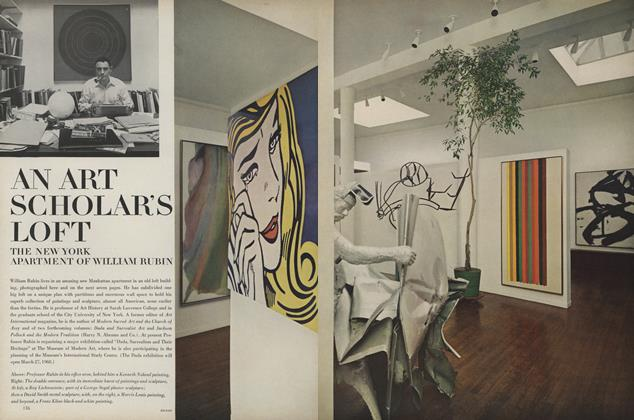 Article Preview: An Art Scholar's Loft: The New York Apartment of William Rubin, March 15 1967 | Vogue