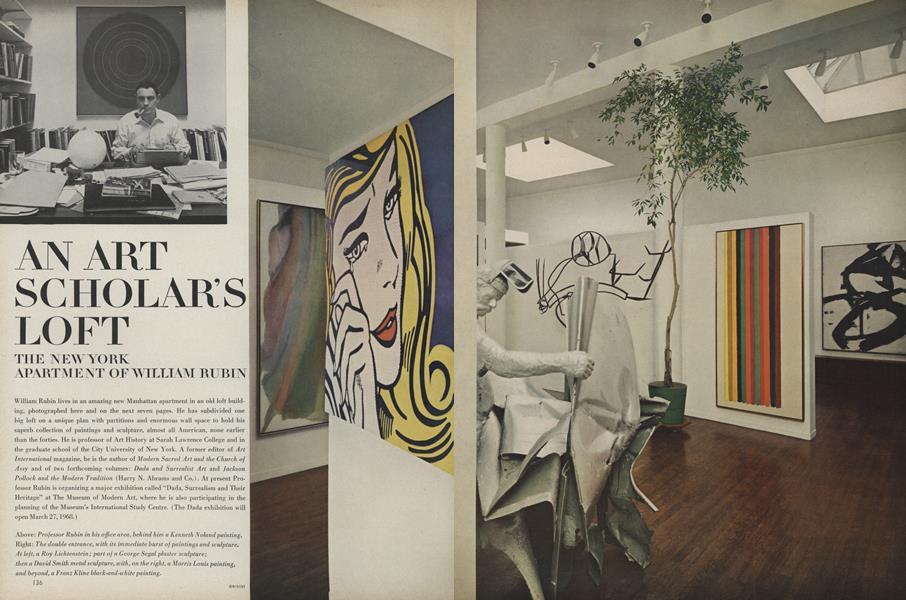 An Art Scholar's Loft: The New York Apartment of William Rubin