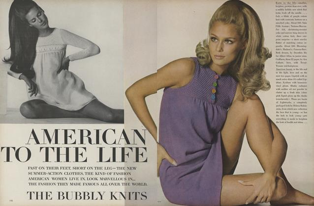 Article Preview: American to the Life, May 1967 | Vogue