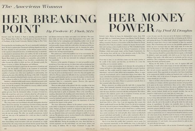 Article Preview: The American Woman: Her Breaking Point, May 1967 | Vogue