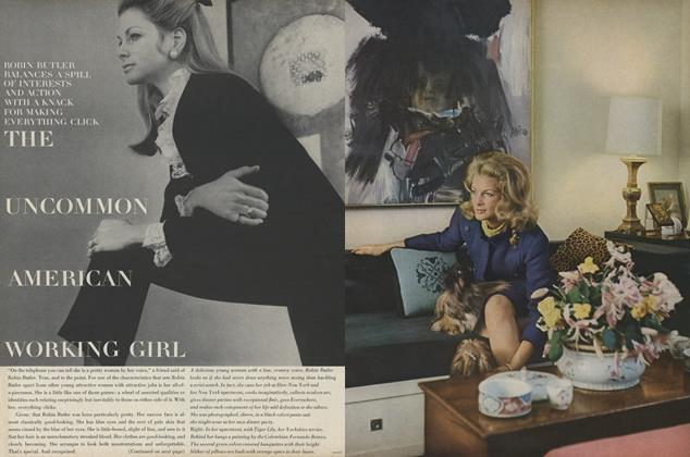 Article Preview: The Uncommon American Working Girl: Robin Butler, May 1967 | Vogue