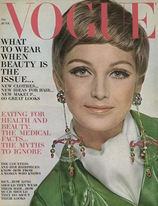 Cover for the June 1967 issue