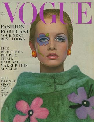 Cover for the July 1967 issue