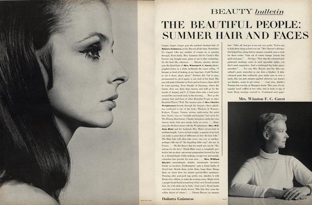 Article Preview: The Beautiful People: Summer Hair and Faces, July 1967 | Vogue