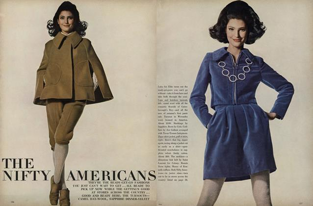 Article Preview: The Nifty Americans, July 1967 | Vogue