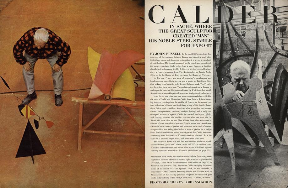 Alexander Calder in Sache