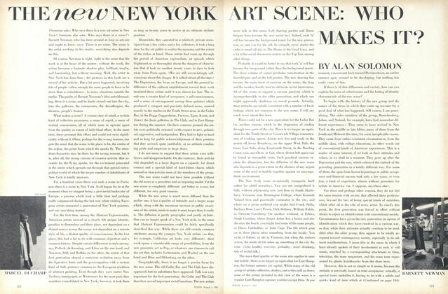 The New New York Art Scene: Who Makes It?