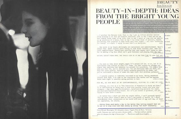 Beauty-in-Depth: Ideas from the Bright Young People