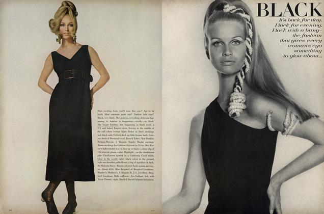 Article Preview: Black, August 15 1967 | Vogue