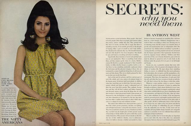 Article Preview: Secrets: Why you Need them, August 15 1967 | Vogue
