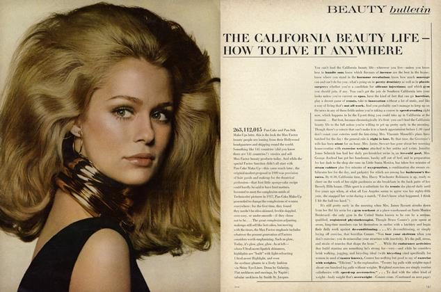 Article Preview: The California Beauty Life–How to Live it Anywhere, August 15 1967 | Vogue