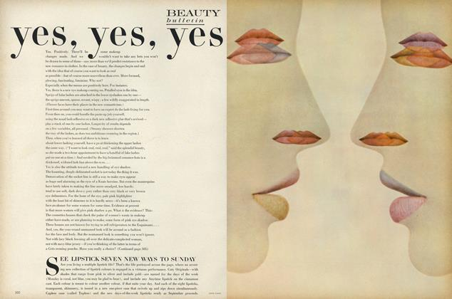 Article Preview: Yes, Yes, Yes, September 1 1967 | Vogue