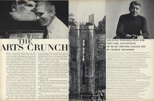 Article Preview: The Arts Crunch, September 15 1967 | Vogue