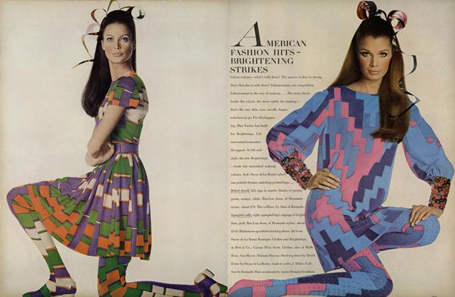 Article Preview: American Fashion Hits/Vogue Patterns, September 15 1967 | Vogue