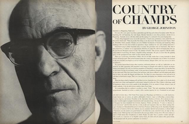 Article Preview: Australia: Country of Champs, September 15 1967 | Vogue