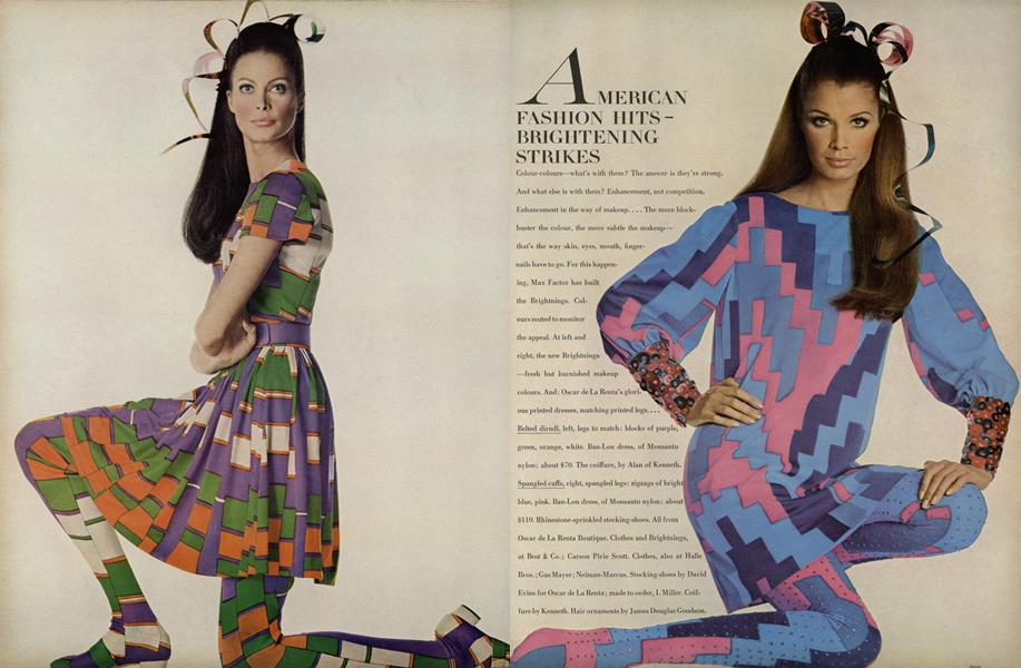 American Fashion Hits/Vogue Patterns