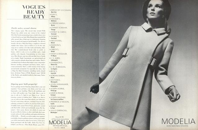 Article Preview: Turtle Notes, Second Chorus..., October 1 1967 | Vogue