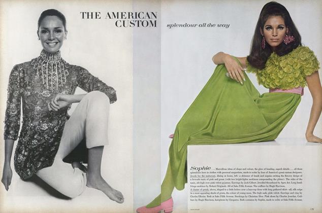 The American Custom. Splendour All the Way