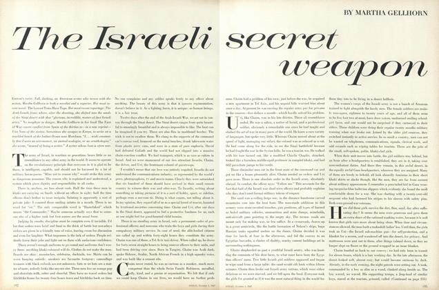 Article Preview: The Israeli Secret Weapon, October 1 1967 | Vogue