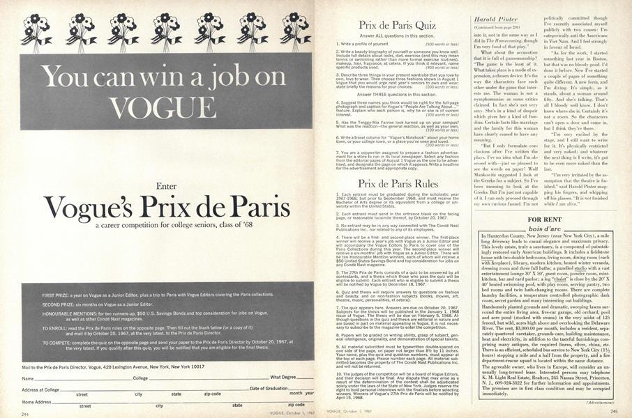 Vogue's Prix de Paris