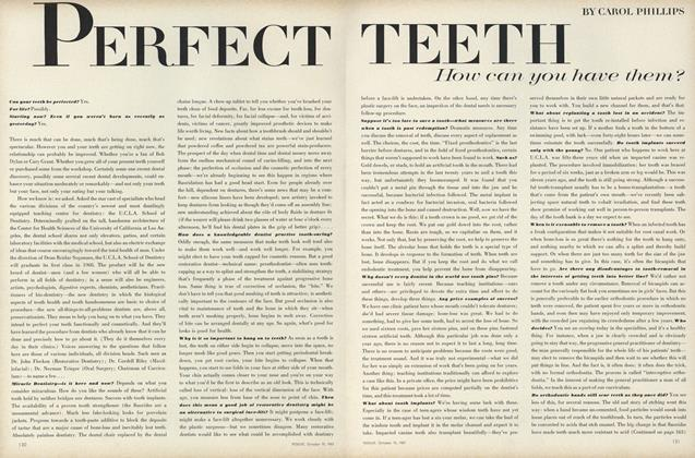 Article Preview: Perfect Teeth: How Can You Have them?, October 15 1967 | Vogue