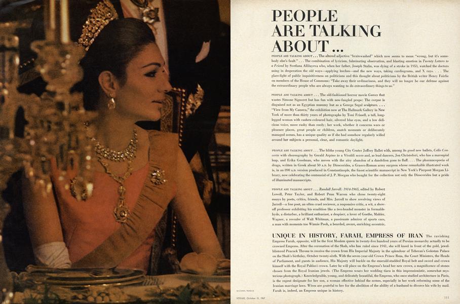 Unique in History, Farah, Empress of Iran