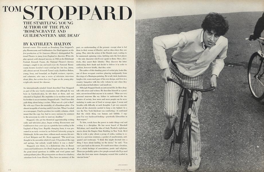 Tom Stoppard