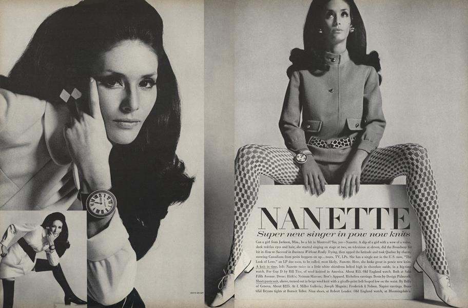 Nanette: Super New Singer in Pow Now Knits