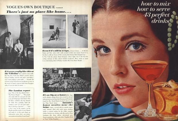 Article Preview: how to mix how to serve 43 perfect drinks, November 1 1967 | Vogue