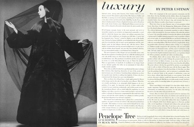 Article Preview: Luxury, November 1 1967 | Vogue
