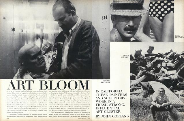 Article Preview: Art Bloom, November 1 1967 | Vogue