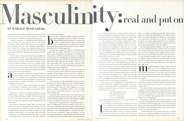 Article Preview: Masculinity: real and put on, November 15 1967 | Vogue