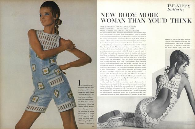 Article Preview: New Body: More Woman Than You'd Think, November 15 1967 | Vogue