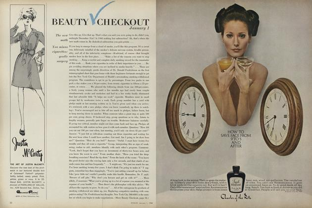 Article Preview: Beauty Checkout, January 1 1968 | Vogue