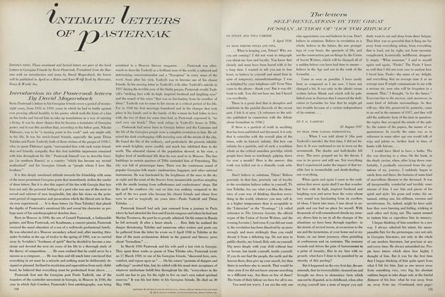Article Preview: Intimate Letters of Pasternak, January 1 1968 | Vogue
