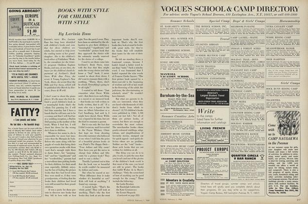 Article Preview: Books With Style for Children With Style, February 1 1968 | Vogue