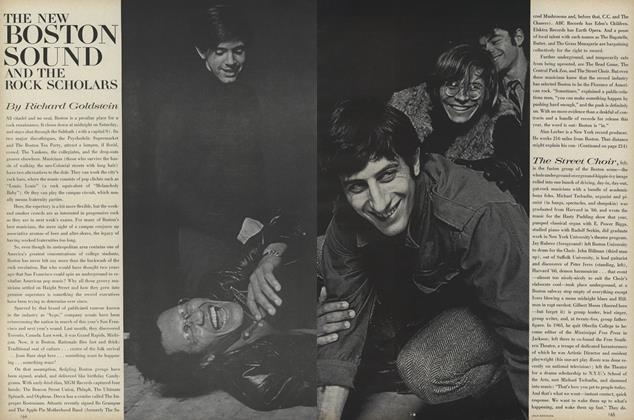 Article Preview: The New Boston Sound and the Rock Scholars, February 1 1968 | Vogue