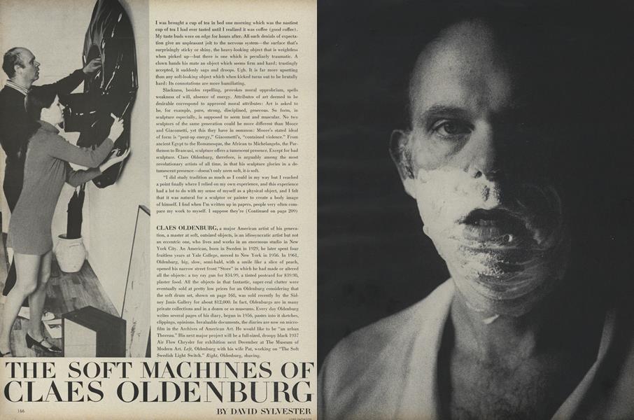 The Soft Machines of Claes Oldenburg