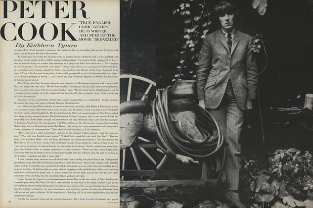 Article Preview: Peter Cook, February 15 1968 | Vogue