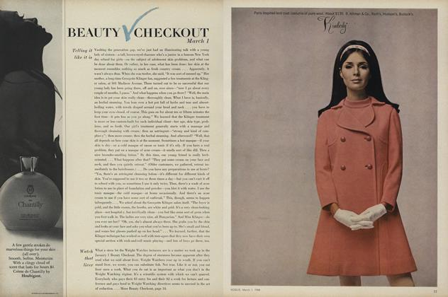 Article Preview: Telling It Like It Is/Watch That Liver..., March 1 1968 | Vogue